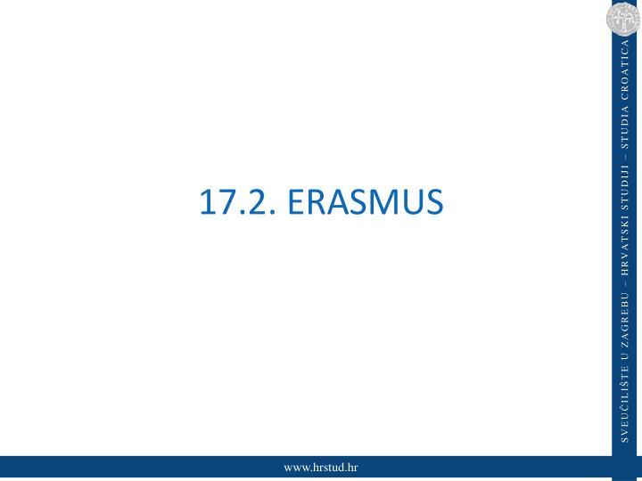 17.2. ERASMUS
