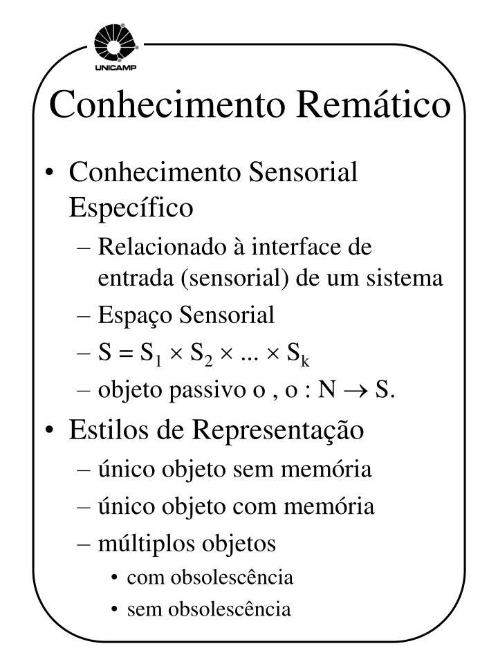 Conhecimento Remático