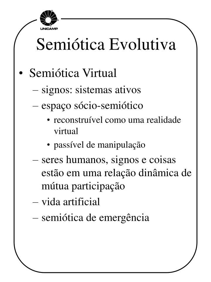 Semiótica Evolutiva
