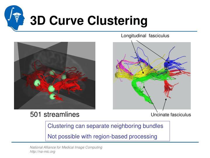 3D Curve Clustering