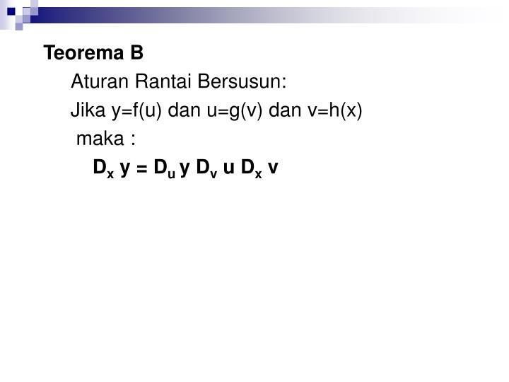 Teorema B