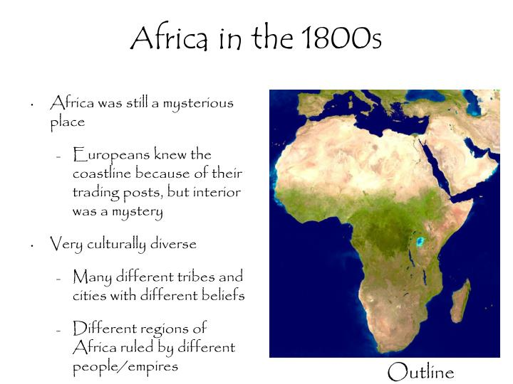 Africa in the 1800s