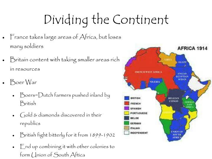 Dividing the Continent