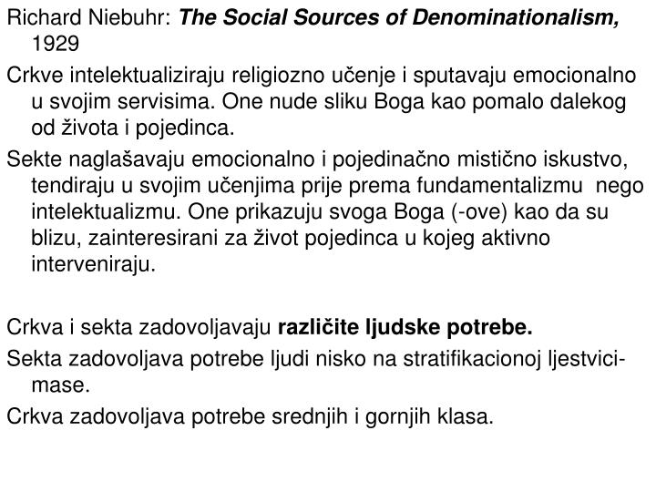 Richard Niebuhr: