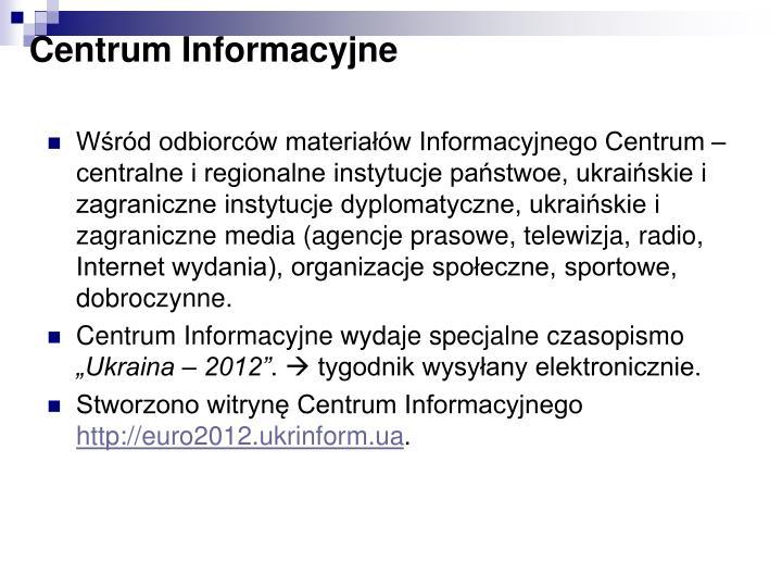 Centrum Informacyjne