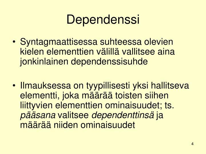 Dependenssi