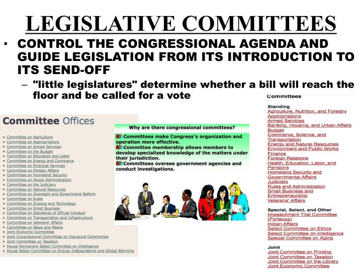 LEGISLATIVE COMMITTEES