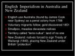 english imperialism in australia and new zealand