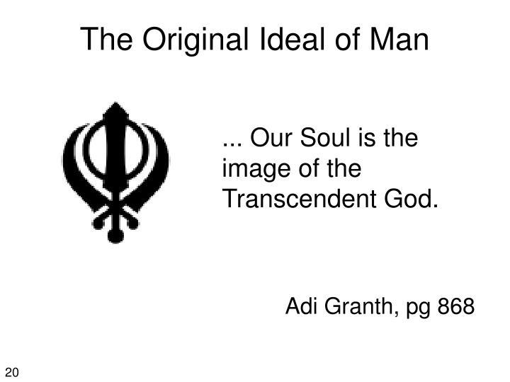The Original Ideal of Man