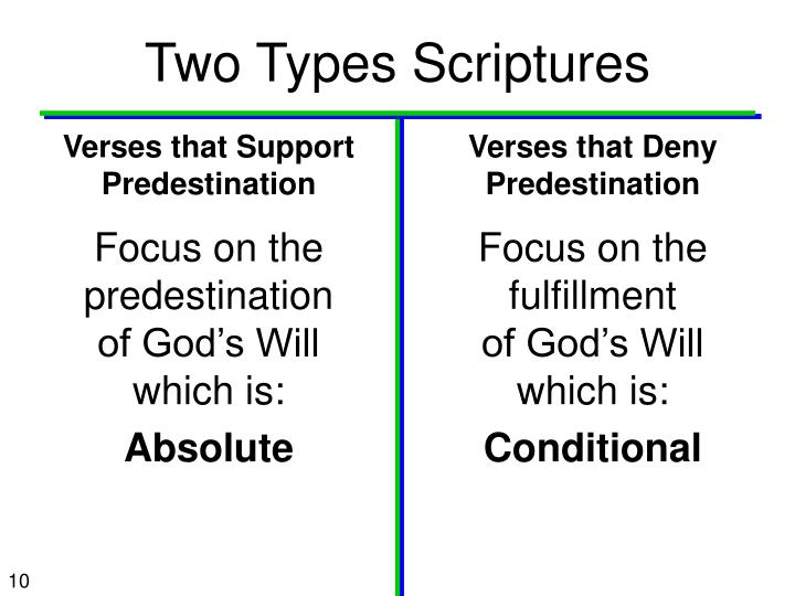 Two Types Scriptures