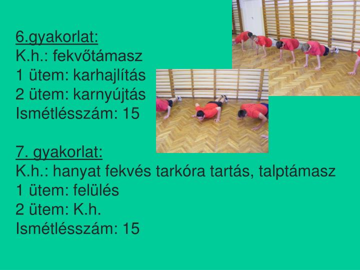 6.gyakorlat:
