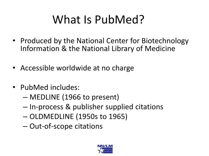 What is pubmed