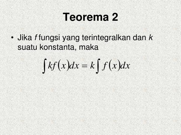 Teorema 2