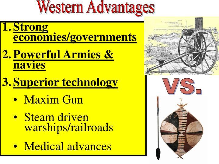 Western Advantages