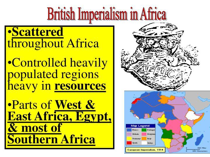 British Imperialism in Africa