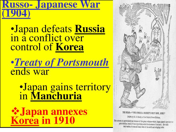 Russo- Japanese War (1904)