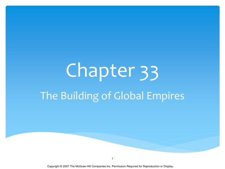Chapter 33