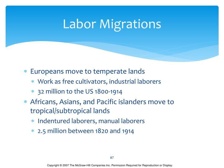 Labor Migrations