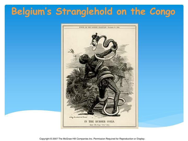 Belgium's Stranglehold on the Congo