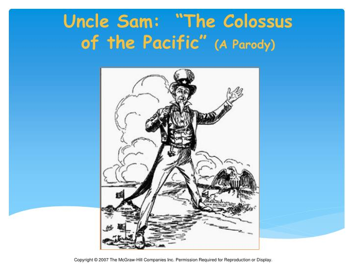 """Uncle Sam:  """"The Colossus"""