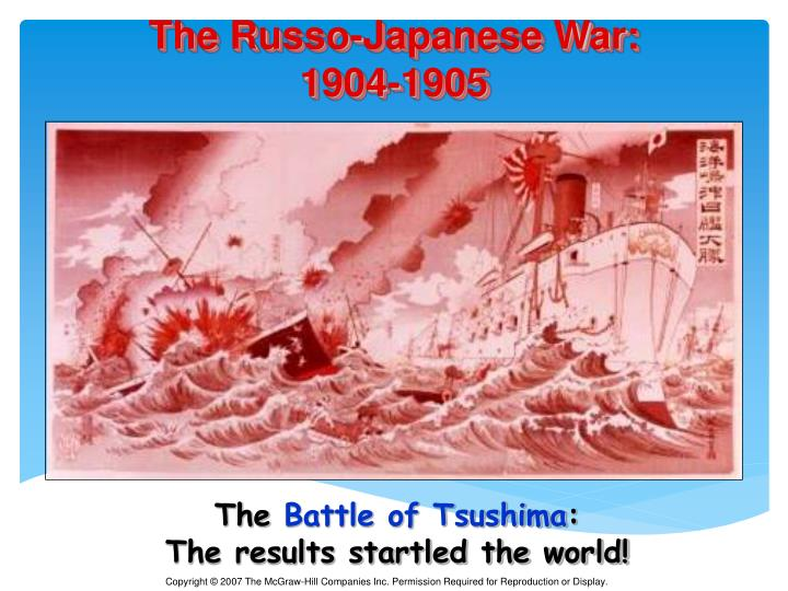 The Russo-Japanese War: