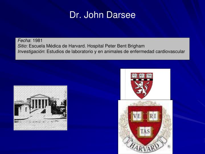 Dr. John Darsee
