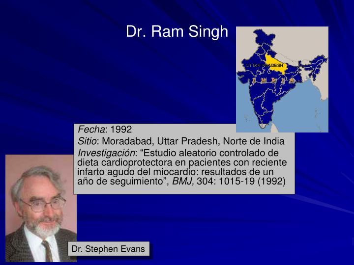 Dr. Ram Singh