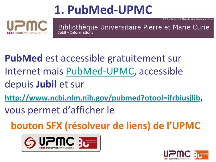 1. PubMed-UPMC