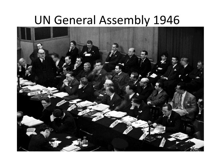 Un general assembly 1946
