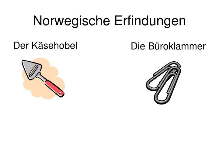 Norwegische Erfindungen