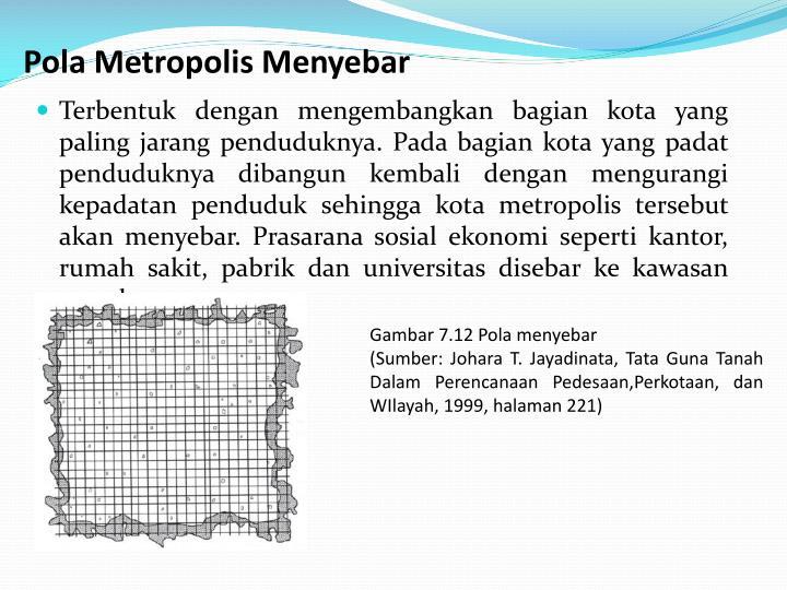 Pola Metropolis Menyebar