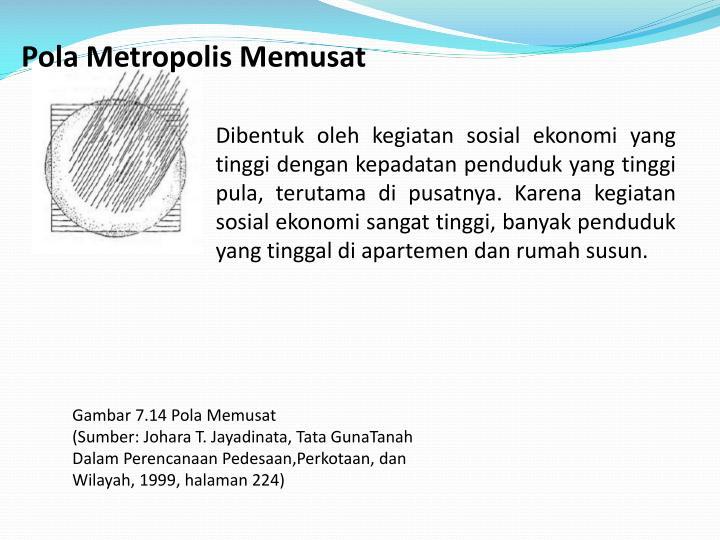 Pola Metropolis Memusat