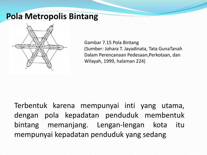 Pola Metropolis Bintang