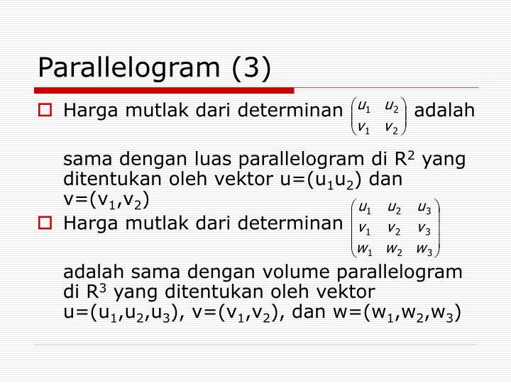 Parallelogram (3)