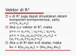 vektor di r 3