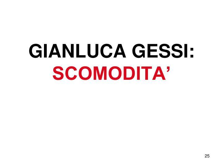 GIANLUCA GESSI: