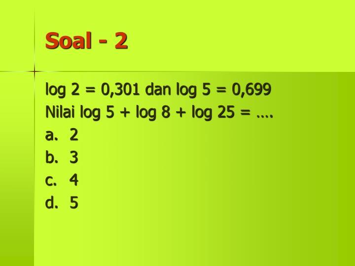 Soal - 2