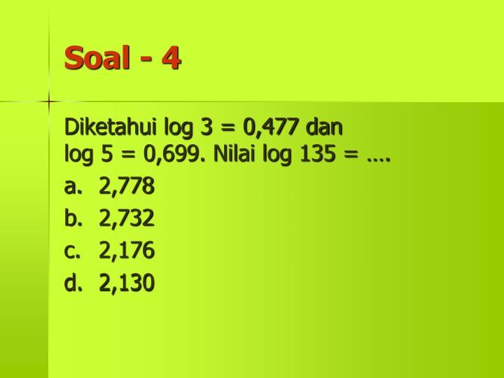 Soal - 4