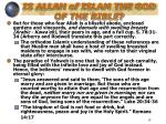 is allah of islam the god of the bible11