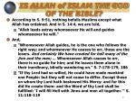 is allah of islam the god of the bible4