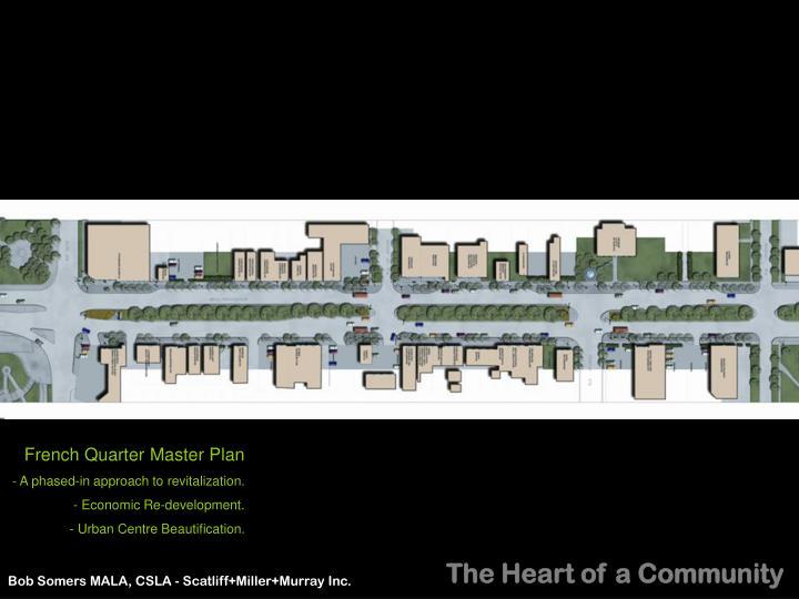 French Quarter Master Plan