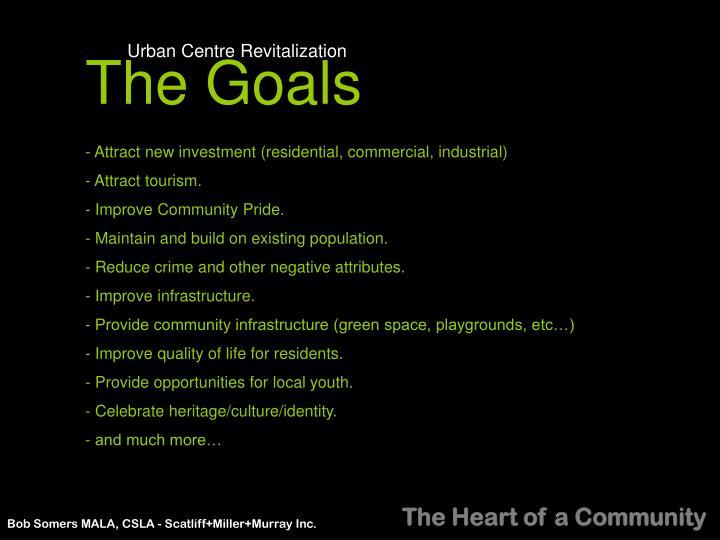 Urban Centre Revitalization