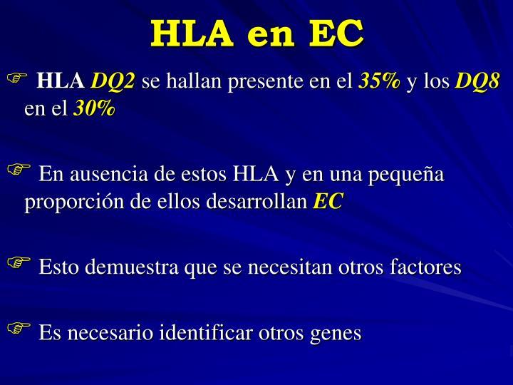 HLA en EC