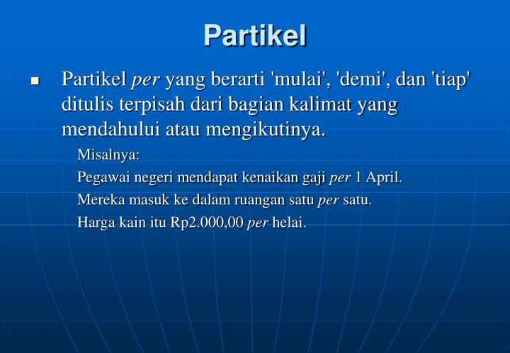 Partikel