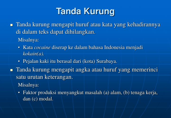 Tanda Kurung