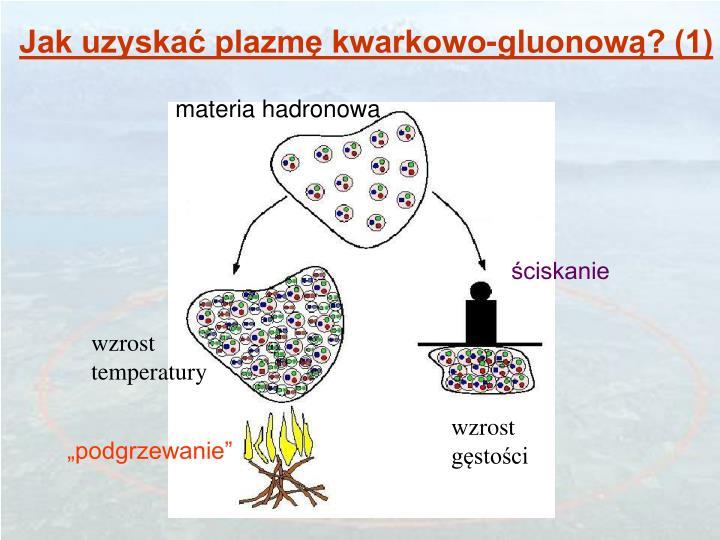 Jak uzyskać plazmę kwarkowo-gluonową? (1)