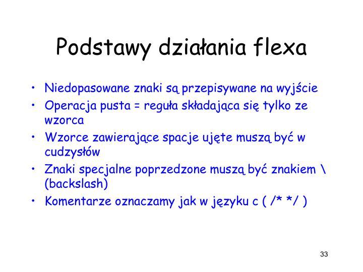 Podstawy działania flexa