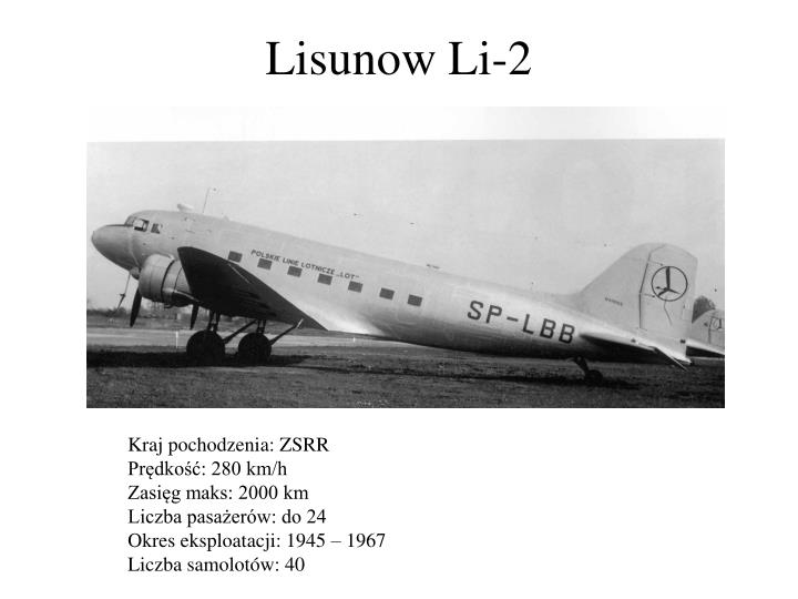 Lisunow Li-2