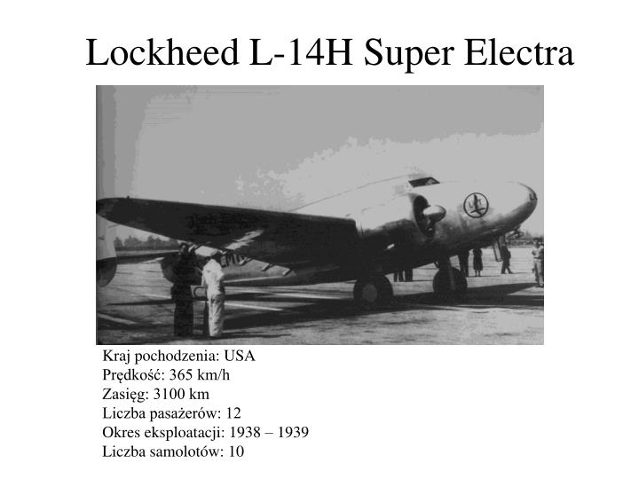Lockheed L-14H Super Electra