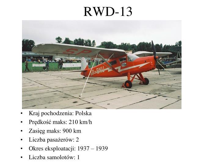 RWD-13